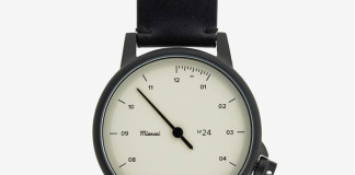 Miansai M24 Watch Exemplifies Minimalistic Luxury