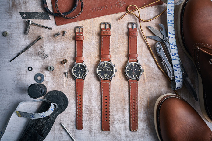 Timex & Red Wing Team Up For Waterbury Collection Release