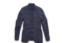 Stay Cool With Corridor's Linen Check Blazer