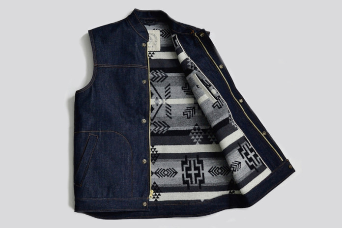 Ginew's Custom Denim Vest Is Bananas
