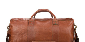 Will Leather Goods Get Ready For Travel Season With The Atticus Duffle