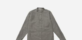 3Sixteen's Band Collar Shirt Headlines Their S/S '16 Collection
