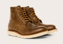 Oak Street Bootmakers' Trench Boot Displays Footwear Excellence