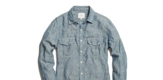 Rivay Gives The Classic Chambray The Bleached Indigo Treatment