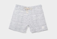 Saturdays Gets Ready For Beach Weather With Colin Boardshort, Stipple Print