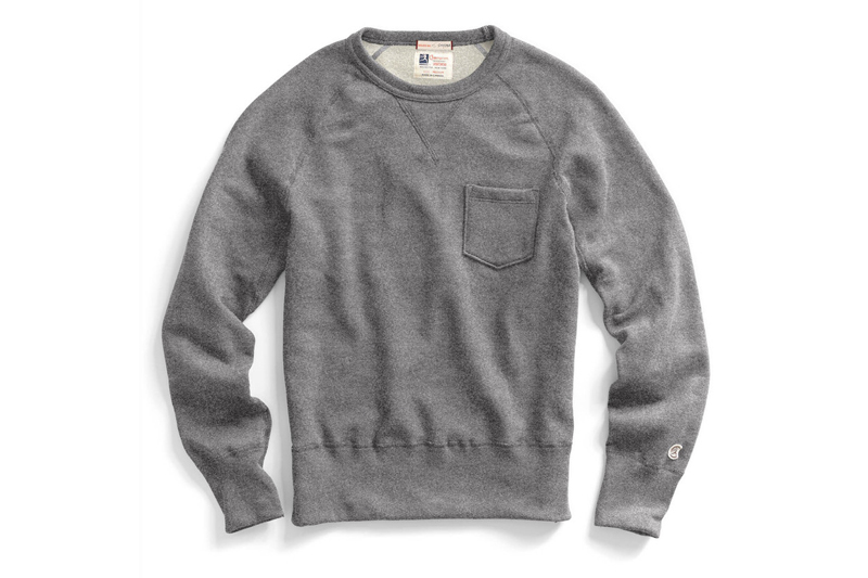 Get Cozy In The Todd Snyder x Champion Classic Pocket Sweatshirt ...