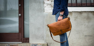 Win In The Office With Whipping Post's Vintage Messenger Bag