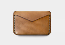 Winter Session Pairs Their Triple Wallet With Horween Leather