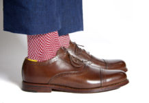 American Trench Adds Some Color To The Typical Dress Sock