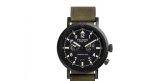 Filson's Latest Watch Is Designed To Handle Tough Conditions