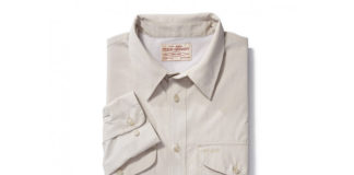 Gear Up For Your Summer Adventure With Filson's Twin Lakes Sport Shirt