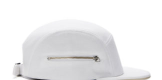 Larose Paris' White Zip 5 Panel Brings Elegance To Headwear