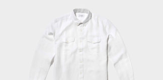 Stay Classic With Saturday's Javas Herringbone Shirt
