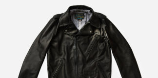 Schott Links Up With 3sixteen For Collaborative Leather Jacket