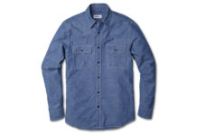 This Buck Mason Shirt Is A Denim Classic