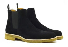 ORO Crepe Chelsea Boots Are A Summer Staple