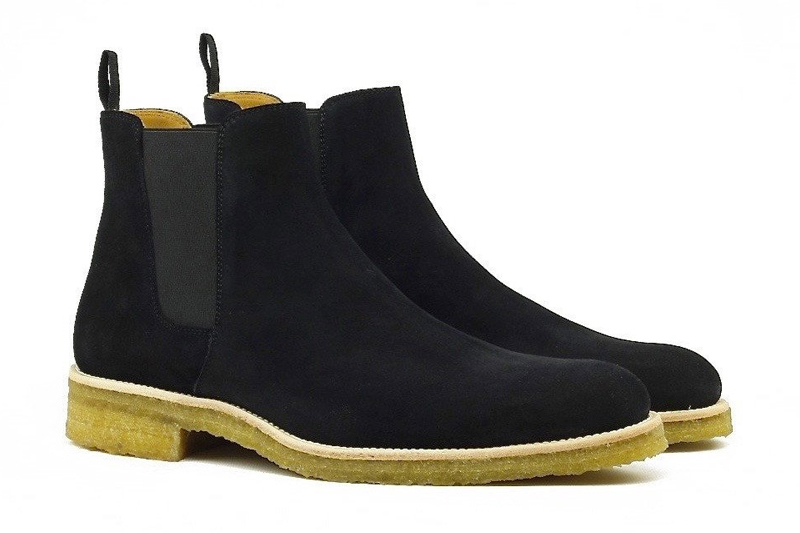 Oro S Crepe Chelsea Boots Are A Summer Staple The