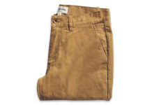 Ditch The Denim With Taylor Stitch's Slim Chinos