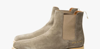 Common Projects' Chelsea Boot Now Available In Warm Grey