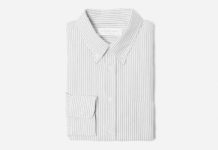 Slip In To Everlane's Japanese Slim Fit Oxford