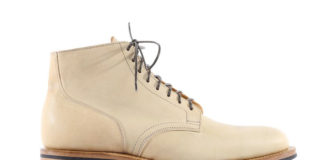 Viberg Releases Service Boot In Beige Kangaroo Leather