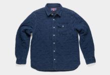 Fight The Cold With Best Made Co.'s Quilted Indigo Overshirt