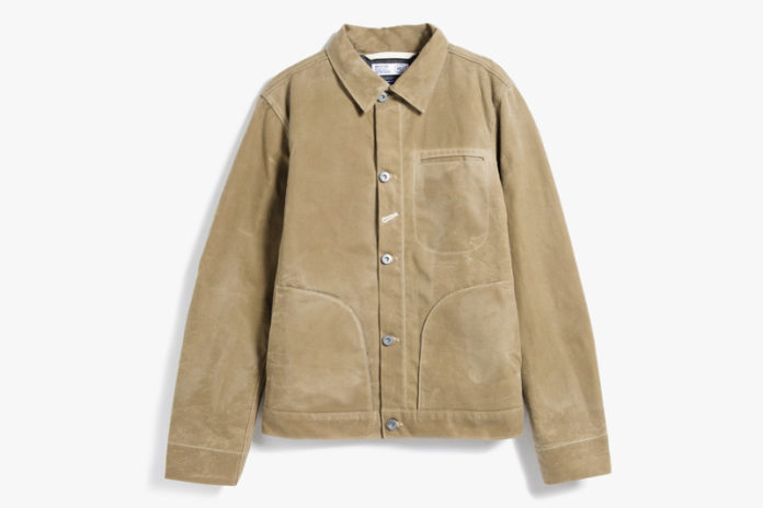 Bundle Up With Rogue Territory's Lined Waxed Supply Jacket