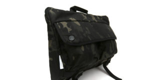 No Need To Blend In With DSPTCH's Camo Shoulder Bag