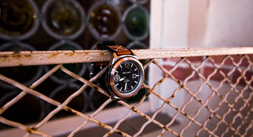 Perfect Timing With Ballast's Trafalgar Watch