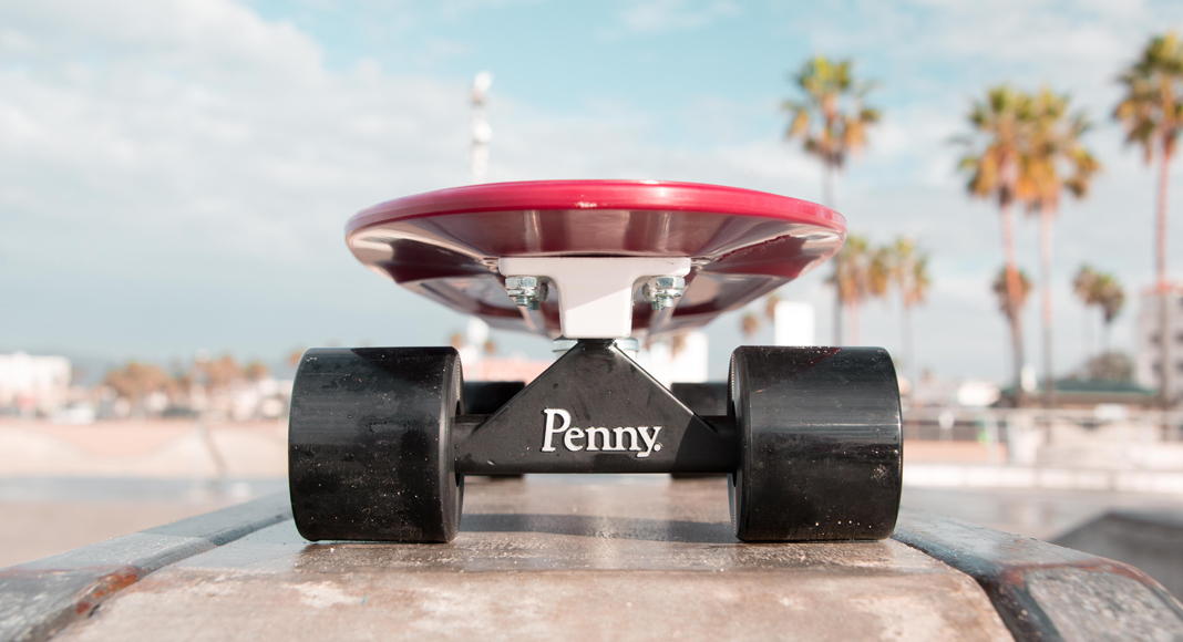 "Cruising Around With Penny Skateboards' 27"" Nickel Board"