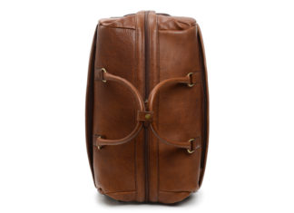 Korchmar's Leather Wheeled Duffle Bag Makes Travel Easy