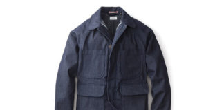 Apolis & Huckberry Team Up For The Selvage Denim Chore Jacket