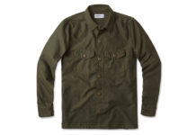 Mix And Match Layers With Buck Mason's Military Overshirt