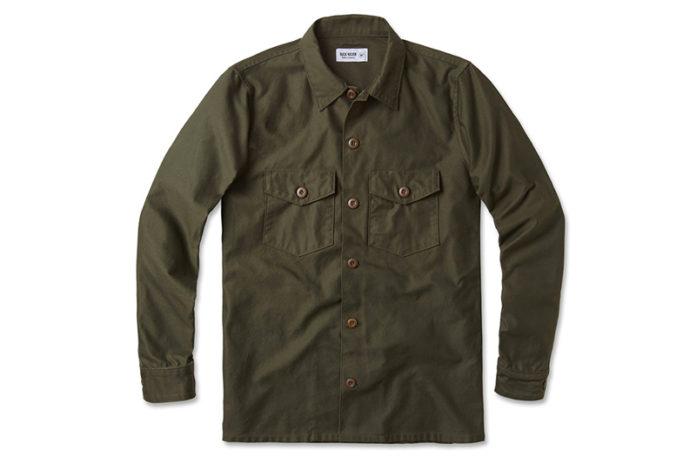 Mix And Match Layers With Buck Mason's Military Overshirt