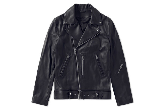 Spoil Yourself With Acne Studios' Nate Clean Leather Jacket