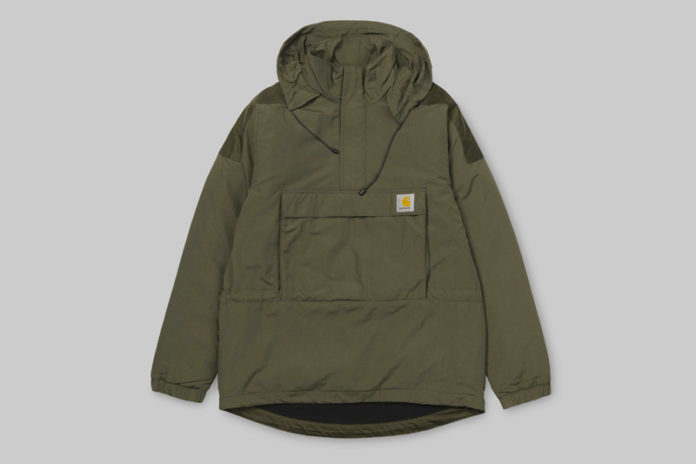 Carhartt WIP Keeps You Dry In Their Justin Pullover