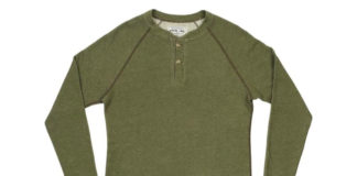 Layer Up With Pistol Lake's Heavy Henley