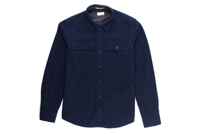 Apolis' CPO Jacket Gets The Indigo Wool Treatment For New Release
