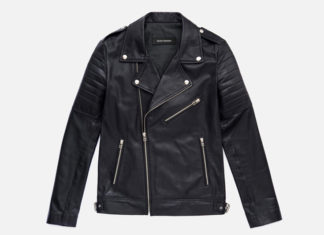 The Leather Jacket You Can Buy Without Breaking The Bank