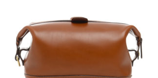 The Leather Dopp Kit You Need In Your Life