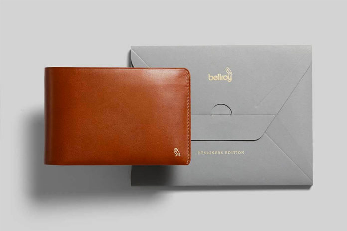 Bellroy Introduces Their Designer Edition Of Leather Wallets