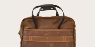 Boss Up With This Waxed Canvas Briefcase