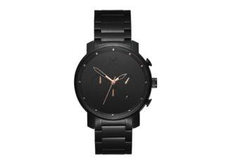 MVMT Debuts A New Black Rose Watch