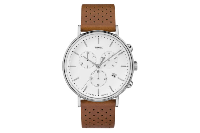 Timex Debuts The Fairfield Chronograph Watch