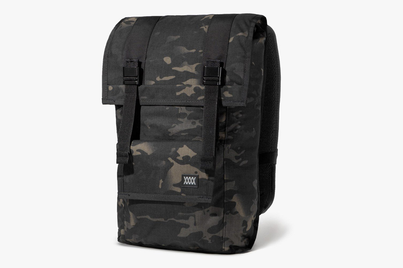 Stand Out In Mission Workshop's Black Camo Fitzroy Bag