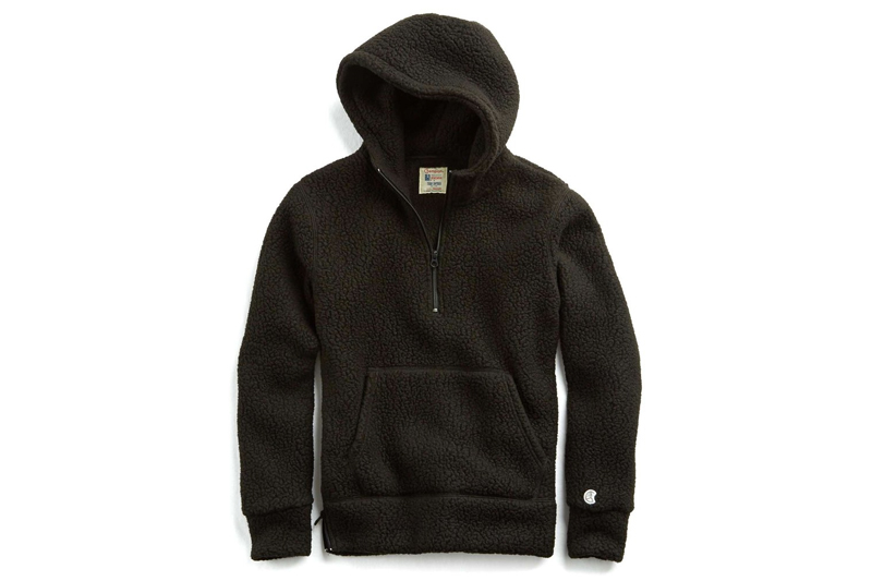 Todd Snyder & Champion Connect On Polartec Sherpa Hoodie