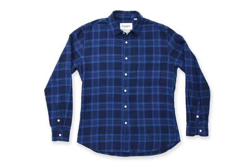 Score This Indigo Button Down Shirt For Less Than $100