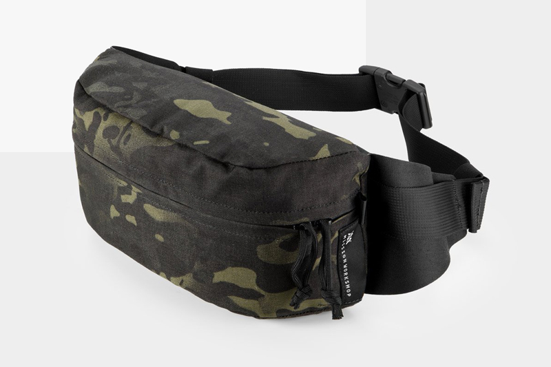 Mission Workshop Stay Versatile With The Axis Modular Waist Pack