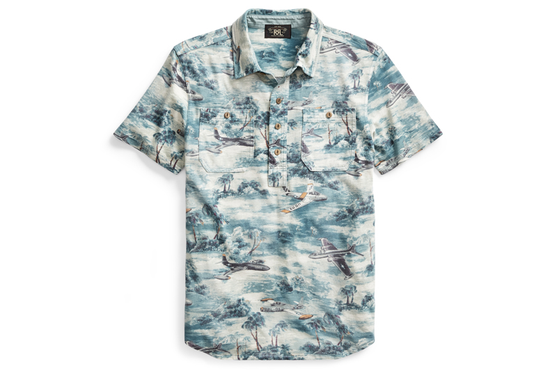 RRL Gets Festive With Their New Printed Workshirt