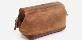 The Toiletry Bag Every Guy Deserves